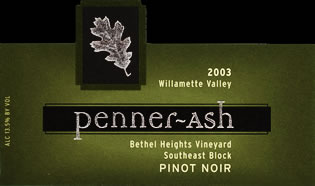 PENNER-ASH BETHEL HEIGHTS VINEYARD PINOT NOIR