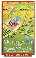 Mothership Wit Organic Wheat Beer